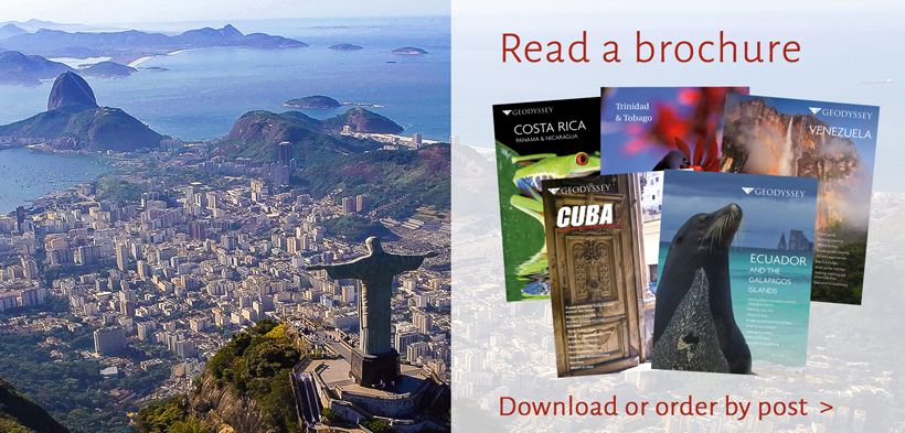 Geodyssey's travel brochures for Latin America & Caribbean