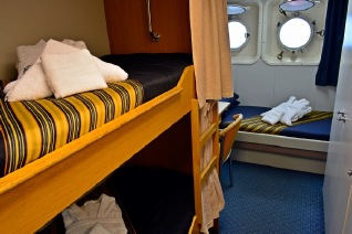 Akademik Sergey Vavilov cabin Main deck triple cabin (shared washroom)