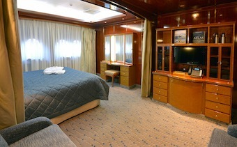 Hebridean Sky cabin Triple Suite