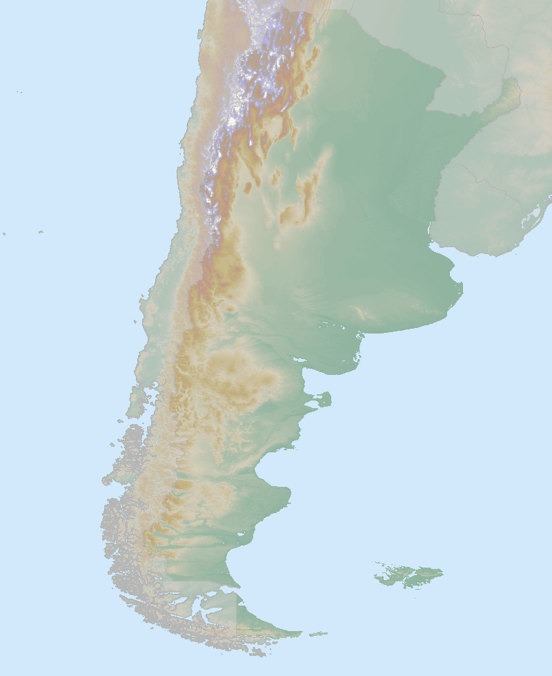 Itinerary map for Argentina 'Argentina Explorer' holiday