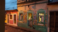 Colourful, historic colonial town