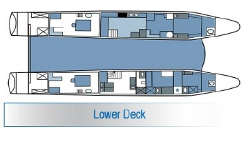 Galapagos Seaman Journey deck Lower Deck
