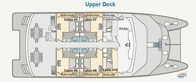 Ocean Spray deck Upper Deck