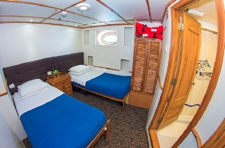 Tip Top IV cabin Double cabin - lower deck