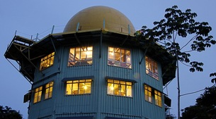 Stay in a converted US military radar tower