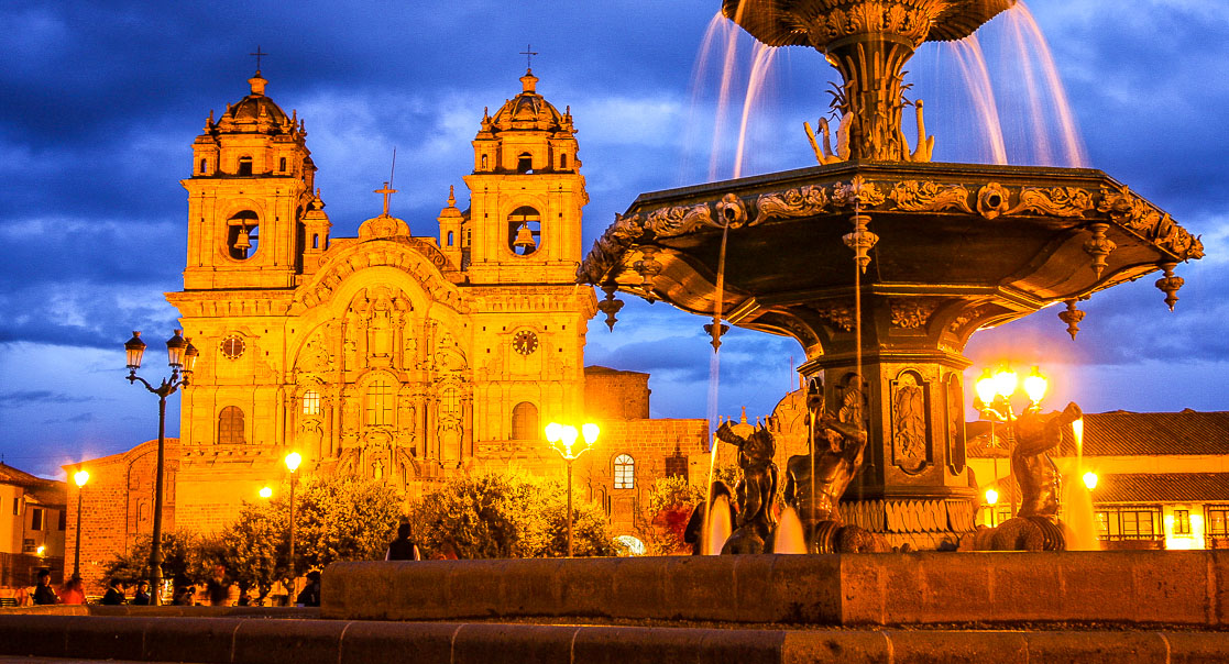 Cusco Cathedral and the Plaza de Armas