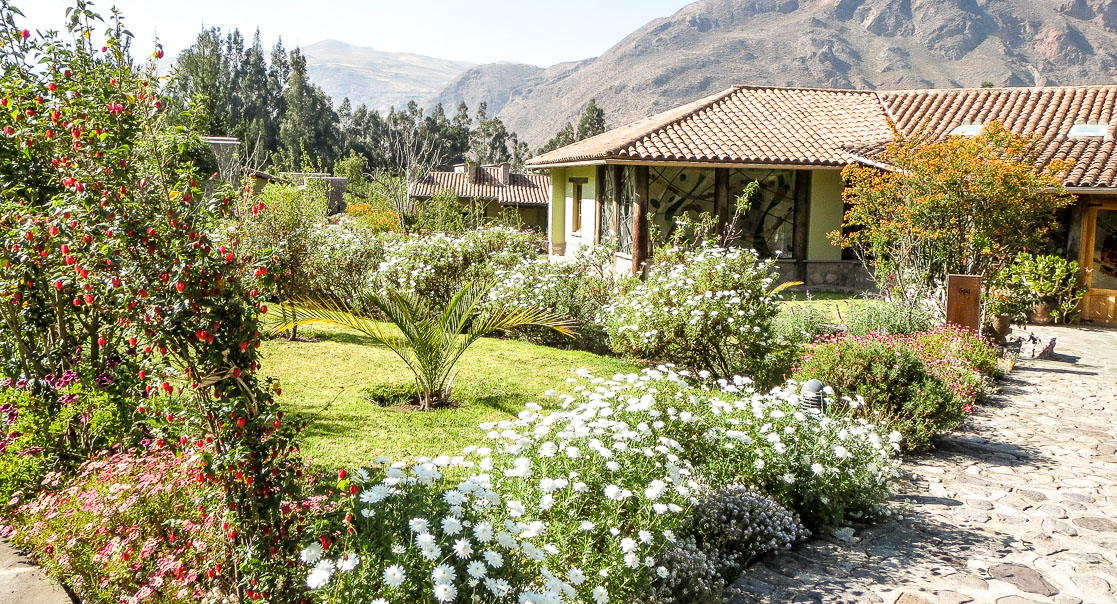 A lodge in the Sacred Valley