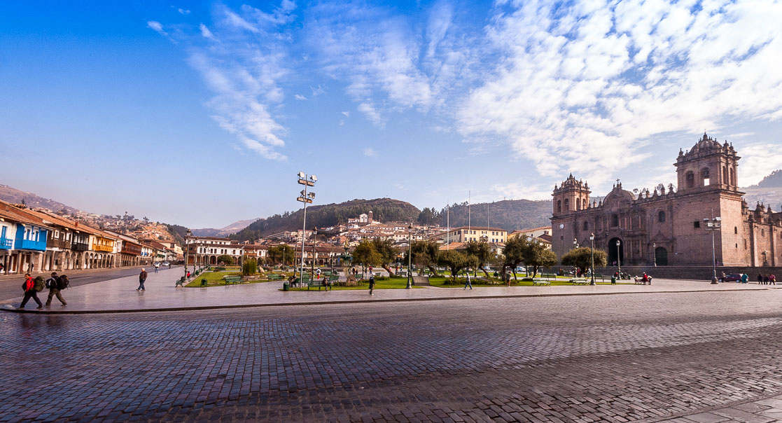 The Plaza de Armas, Cusco