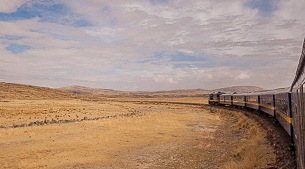 By train across the Altiplano