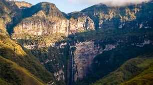World's tallest waterfall - nearly