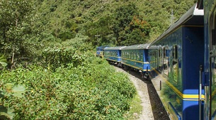 The Machu Picchu train